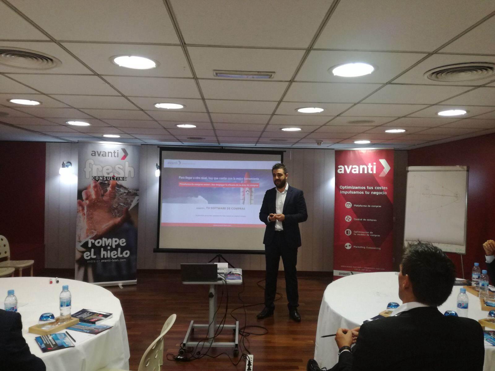 Alejandro Hernanz, director de negocio de Avanti