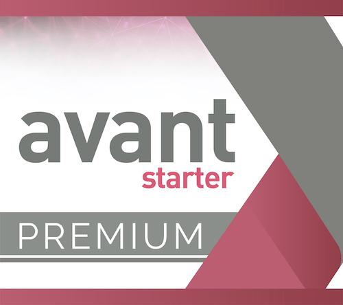 Avant Starter Premium Software