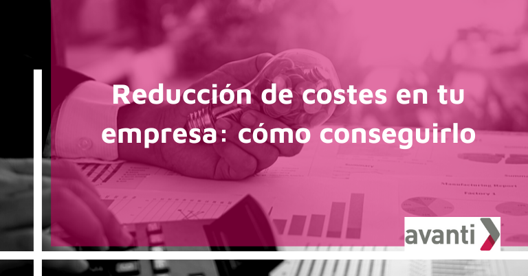 reducción de costes
